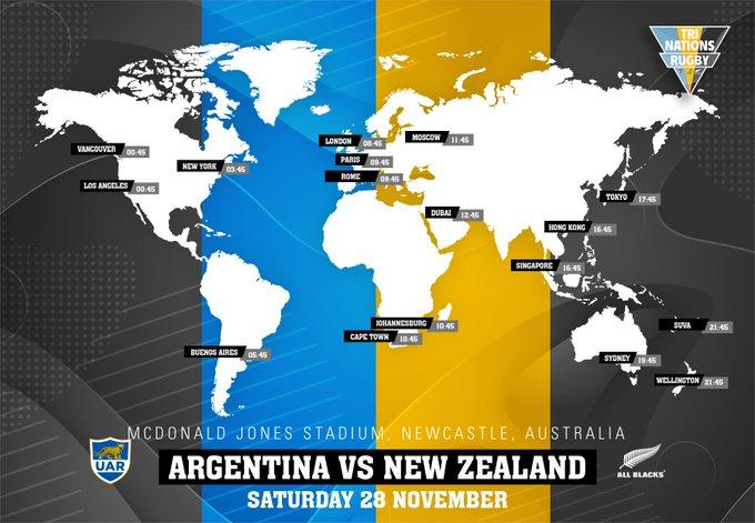 オールブラックス vs アルゼンチンのポスター