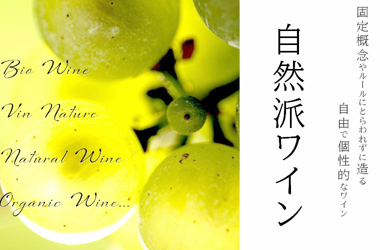 自然派ワインのポスター