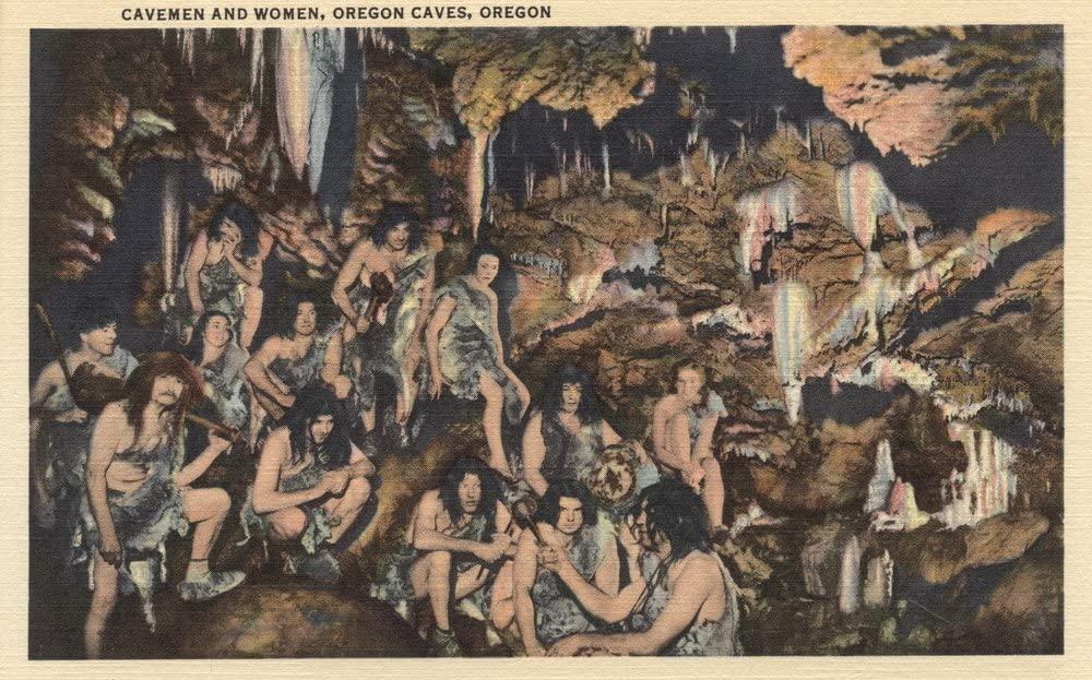 集団で生活する太古の人類