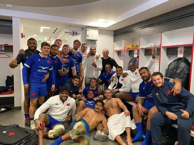 若いフランスの選手たち