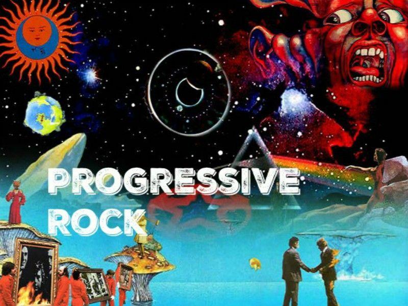 プログレッシブロックのポスター