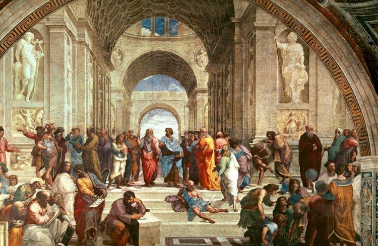 語りあうギリシャの哲学者たち