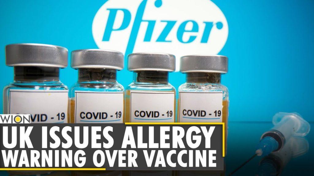 ワクチン接種者のアナフィラキシーショックを伝えるニュース