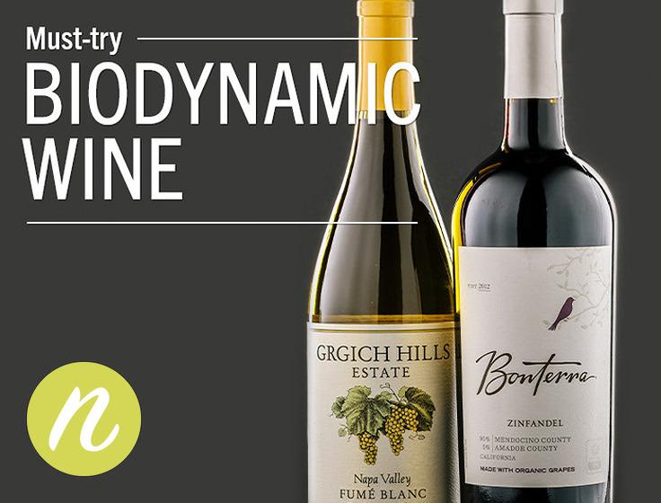 ビオディナミワインのボトル