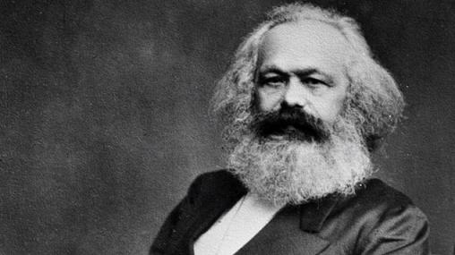 マルクスの写真