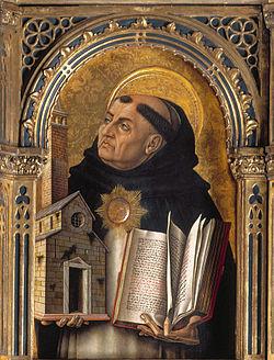 トマス・アクイナスの肖像画
