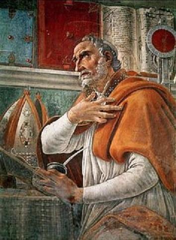 アウグスティヌスの肖像画