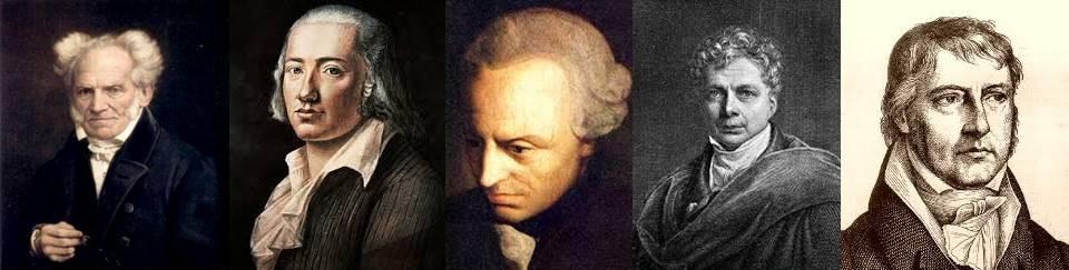 フィヒテ シェリング ヘーゲルらのドイツ観念論の哲学者達