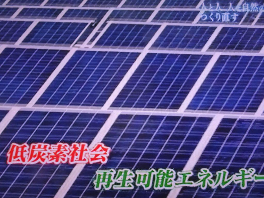 低二酸化炭素社会 再生可能エネルギーについて説明した図