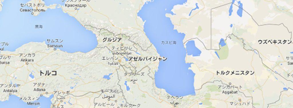 メソポタミアの地図