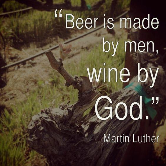 ワインが高貴な酒であることを示すポスター