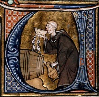 修道院のワイン貯蔵庫