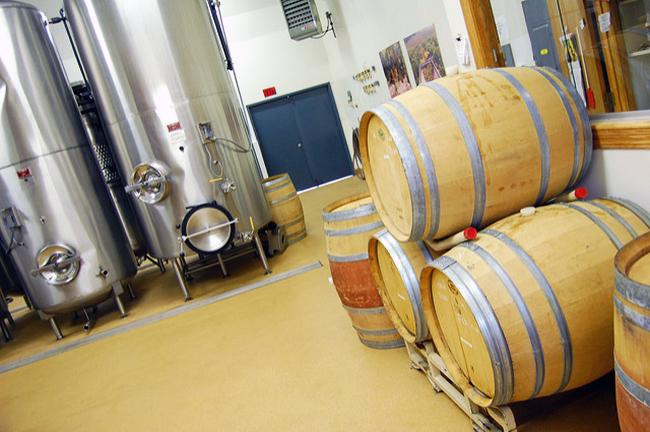 ステンレスタンクの発酵槽