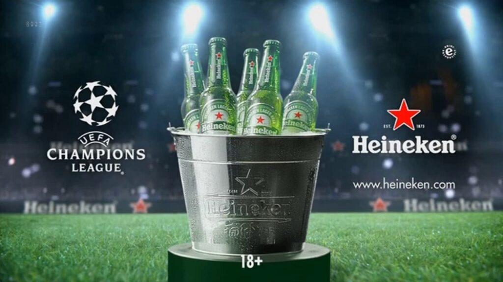 UEFAチャンピオンズリーグの広告ポスター