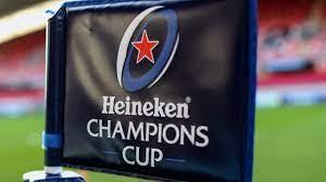 ハイネケン・チャンピオンズカップの旗