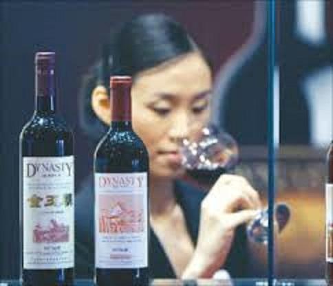 中国産ワイン