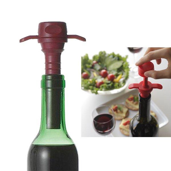 ボトル内の酸素を抜く器具