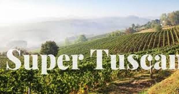 スーパータスカンを造っているワイン畑