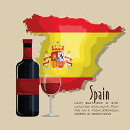 さまざまな種類のスペインの ワインのボトル