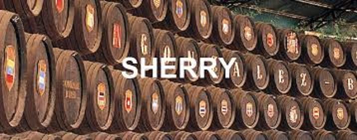 シェリーを熟成している樽