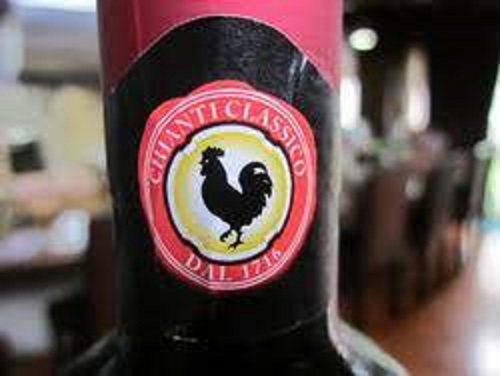 黒い雄鶏のマーク