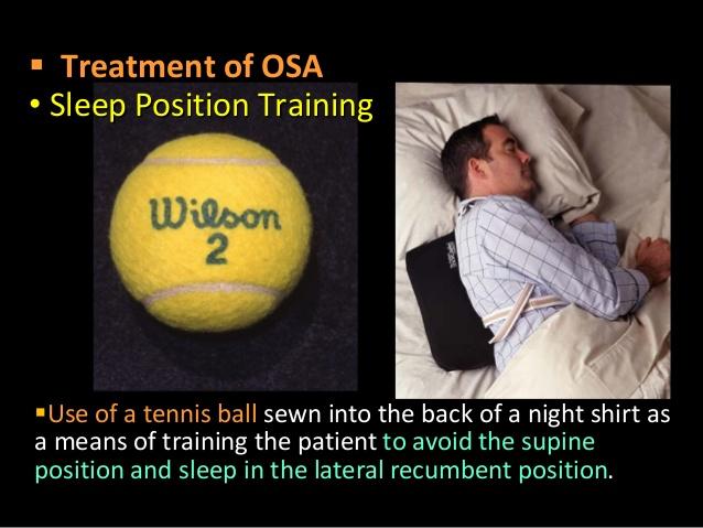 横向きで寝ることの有効性を強調するポスター