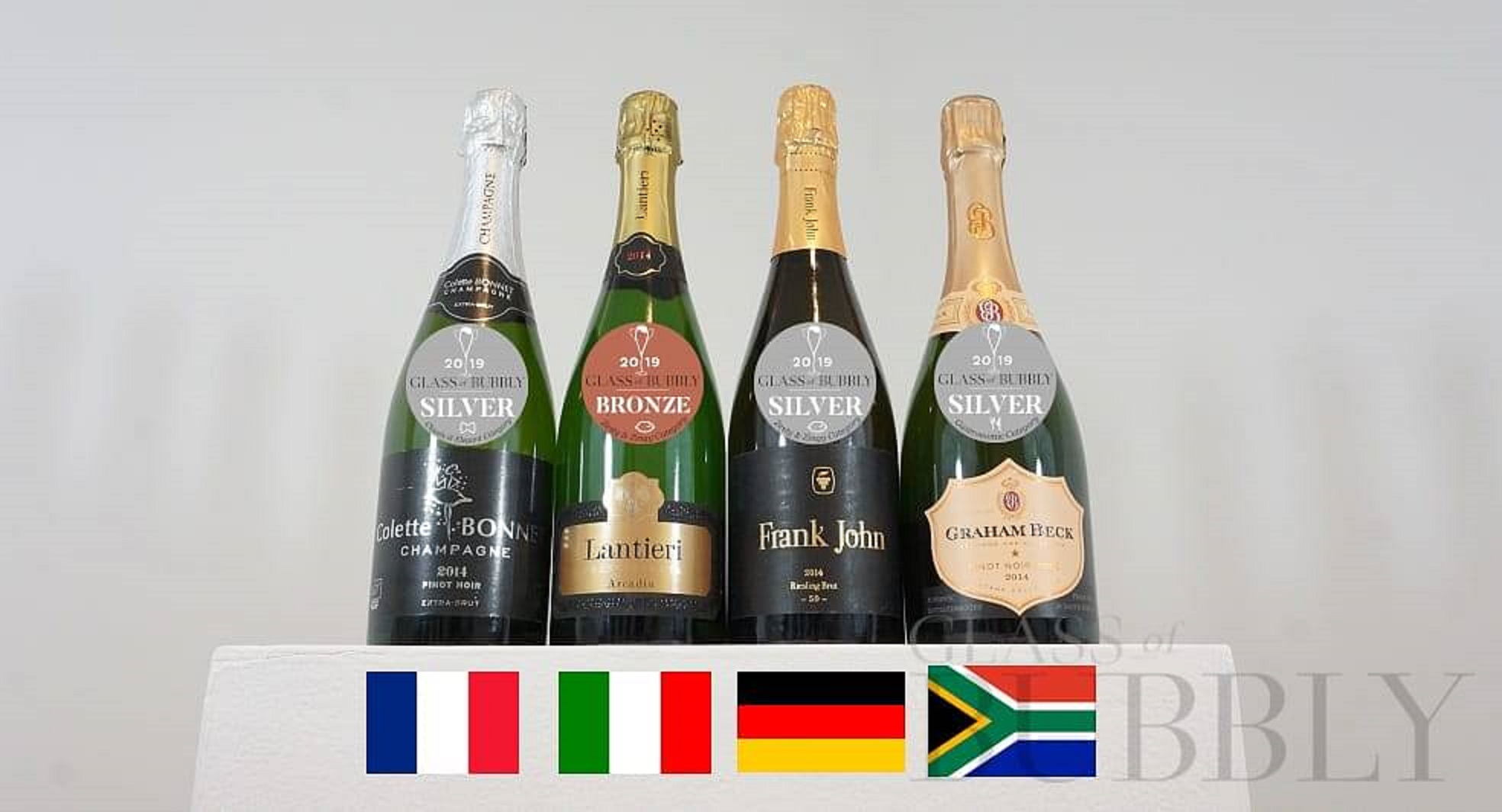 外国で作られた発泡性ワイン
