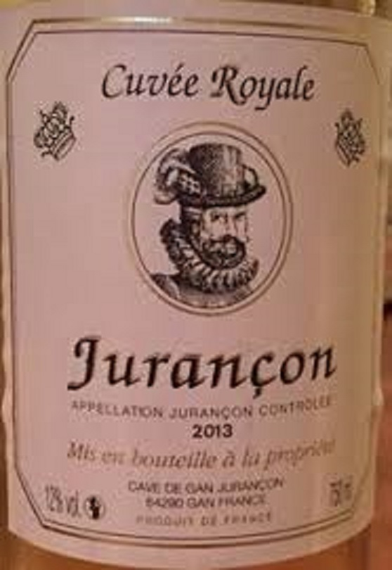 ジュランソンの甘いワインのボトル