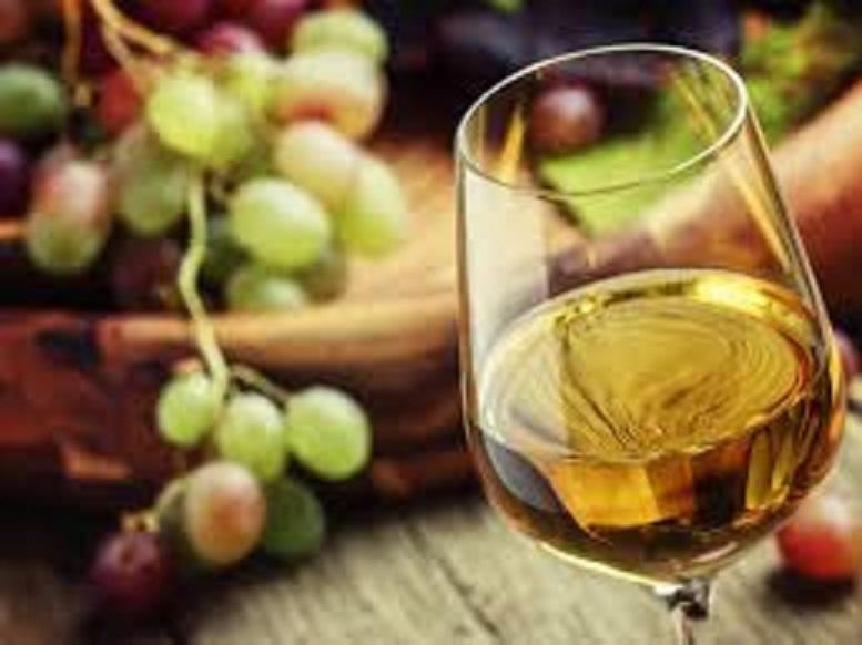 ジュランソンの甘いワインの色合い